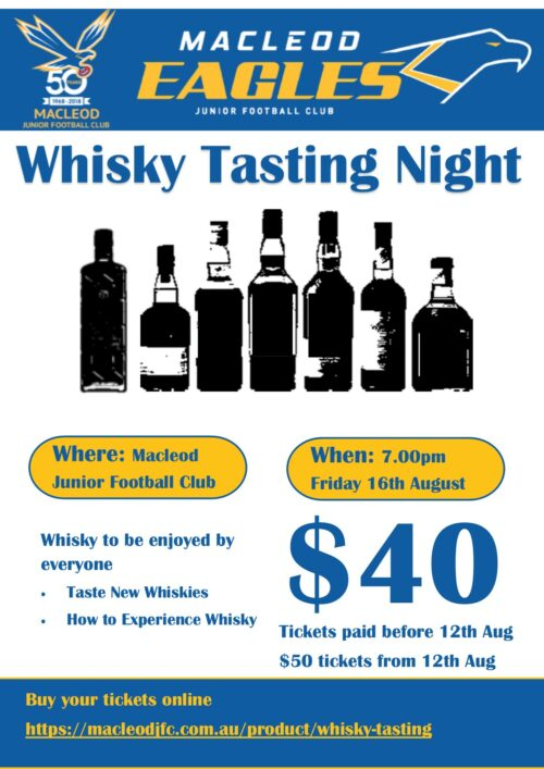 2019 Whisky Night
